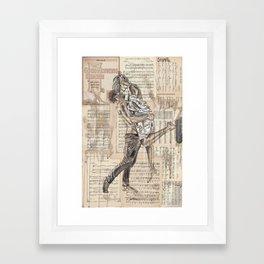 Good Morning Dearie Framed Art Print