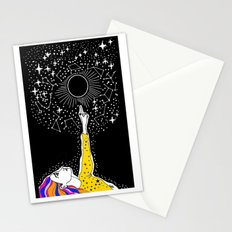 luna nueva Stationery Cards