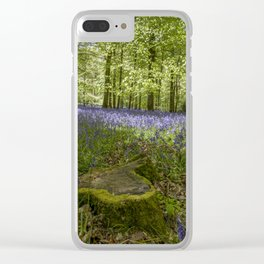 Woodland Wonder Clear iPhone Case