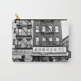China Town Streets in New York City Carry-All Pouch