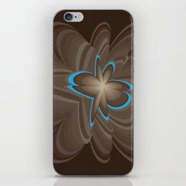 Wood flower 1 iPhone Skin