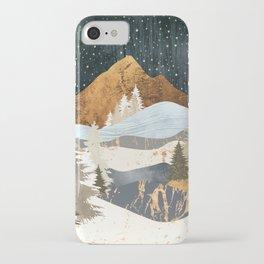 Winter Stars iPhone Case