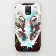 WOLF FLOWER Galaxy S5 Slim Case