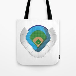 Baseball Stadium Tote Bag