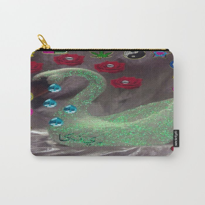 TEARS OF HAKUCHOU Carry-All Pouch