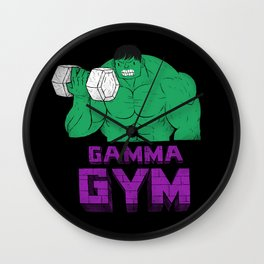 gamma gym Wall Clock