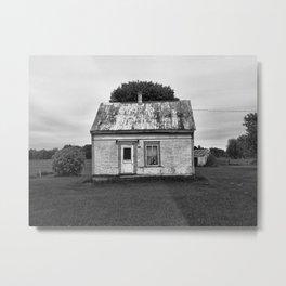 La cabane Metal Print