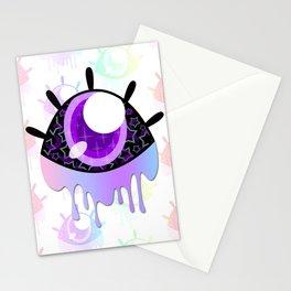 Melty Monster Eye Stationery Cards