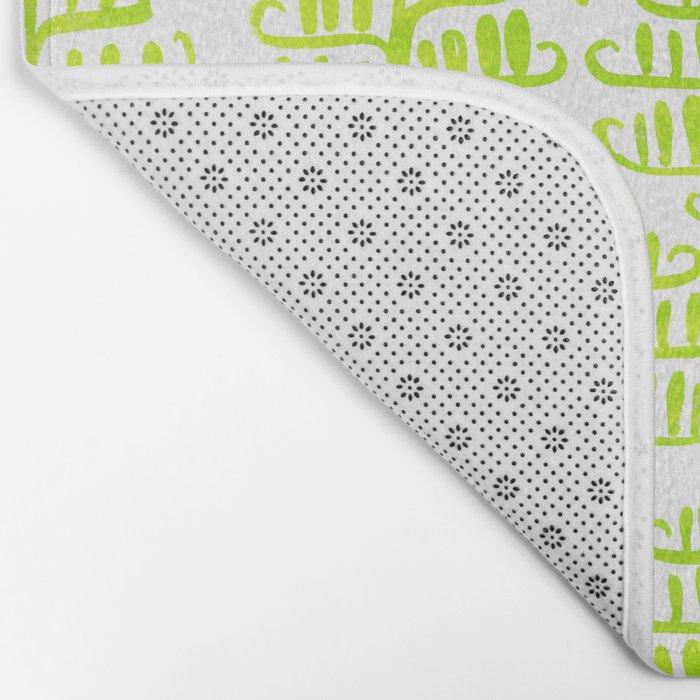 Damask forest pattern Bath Mat