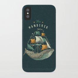 Whale | Petrol Grey iPhone Case