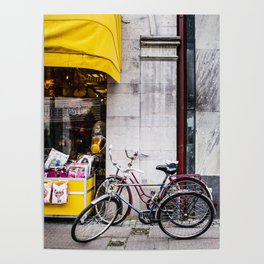 Bikes and shop Poster