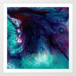 Acrylic Hurricane Art Print