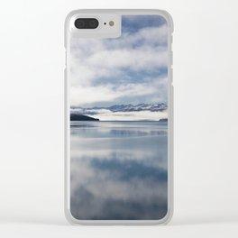 Mirroring Lake Tekapo Clear iPhone Case