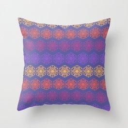 Vintage Kaleidoscope Throw Pillow