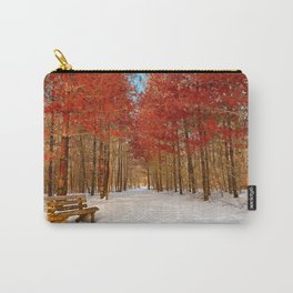 Ruby Winter Trail Carry-All Pouch