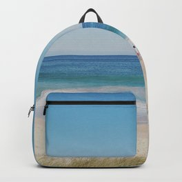Just the 3 of us...By the Sea Backpack