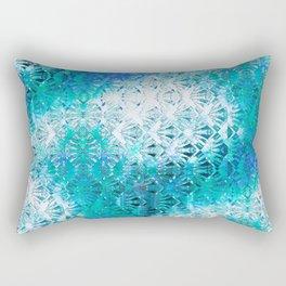 Connectedness (blue) Rectangular Pillow