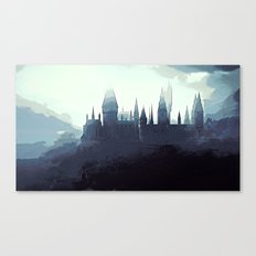 Harry Potter - Hogwarts Canvas Print
