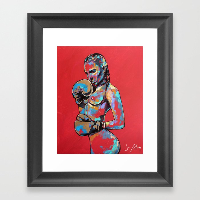 Beat it Framed Art Print