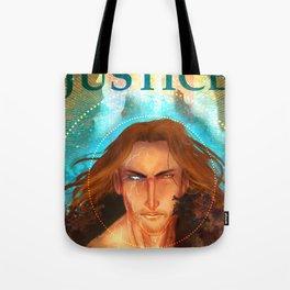 Torn Justice Tote Bag
