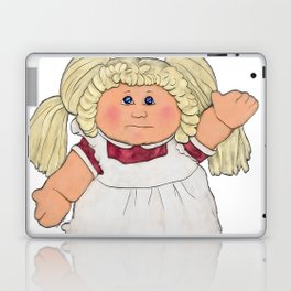 Cabbage Patch Doll on White Laptop & iPad Skin