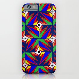 Primary Lightning Bolts iPhone Case