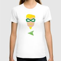 green arrow T-shirts featuring GREEN ARROW by Roboz