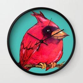 L'il Lard Butt Cardinal Wall Clock