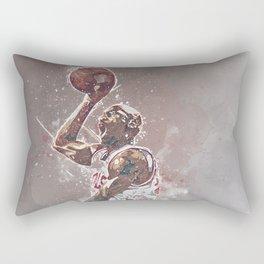 basketball player art Rectangular Pillow