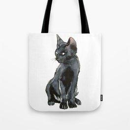 Mon ptit chat noir Tote Bag