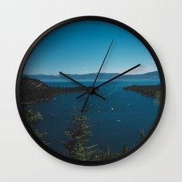 Lake Tahoe VI Wall Clock