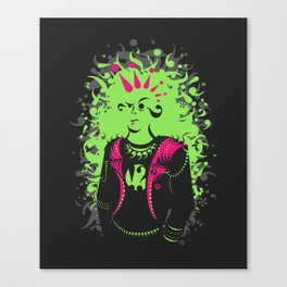 Punktuation! Canvas Print
