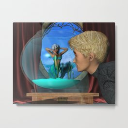 Andrew's Aquarium Metal Print