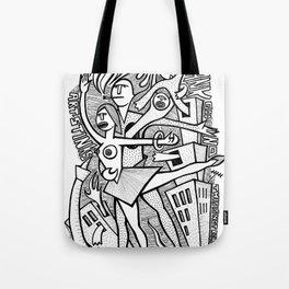 Unreality Tango - popcore 05 Tote Bag