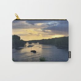 Sunset Sailing on the Loire Carry-All Pouch