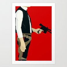 Don't Ever Tell Me The Odds Art Print