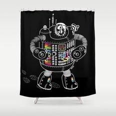 Panda Music Jaeger Shower Curtain