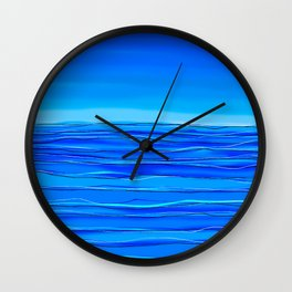 Always sea in the background ... Wall Clock