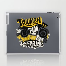 Triumph Laptop & iPad Skin