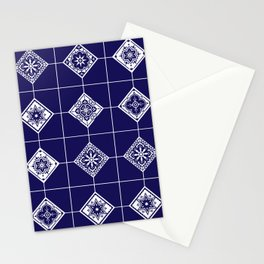 Talavera Mexican Tile – Porcelain Palette Stationery Cards