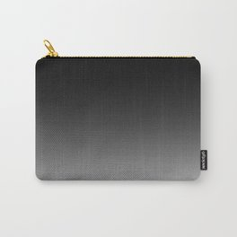 Black to White Carry-All Pouch