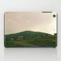 cows iPad Cases featuring Cows by Camille Hermant