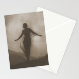 Anne Brigman Photograph - The Breeze, 1910 Stationery Cards