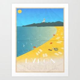 Byron Bay, Australia Art Print