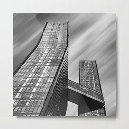 Apartment buildings in New York City Metal Print