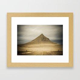 Haystack Butte, Sweet Grass Hills, Liberty County, MT Framed Art Print