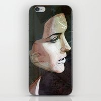 the lights iPhone & iPod Skins featuring LIGHTS by SAMHAIN