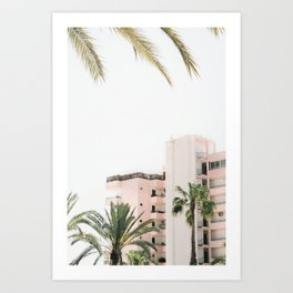 Hotel Hawaii Art Print