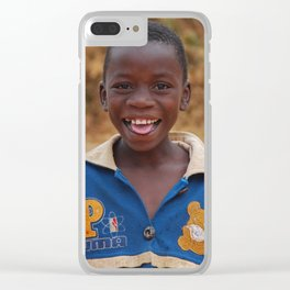 Portrait Clear iPhone Case
