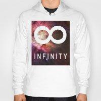 infinite Hoodies featuring Infinite by Sney1